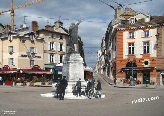 Limoges Place d Aine Revenue Place D'aine